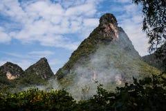 Montañas de China Imágenes de archivo libres de regalías