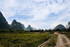 Montañas de China Imagenes de archivo