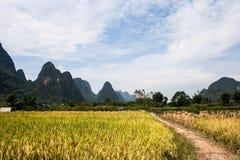 Montañas de China Foto de archivo