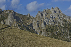 Montañas de Ciucas Imagen de archivo libre de regalías