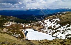 Montañas de Colorado Foto de archivo