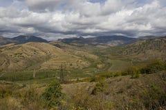 Montañas de Crimeas imagenes de archivo