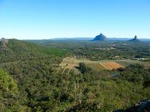 Montañas de cristal de la casa - Australia Imagen de archivo libre de regalías