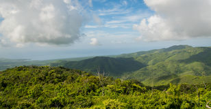 Montañas de Cuba Fotos de archivo