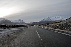 Montañas de Cullin en la isla de Skye Escocia imagenes de archivo