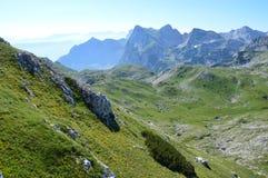 Montañas de Dinaric en Montenegro Fotografía de archivo libre de regalías
