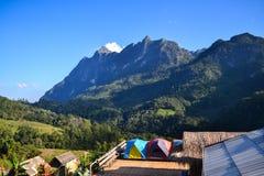 Montañas de Doi Luang Chiangdao Fotografía de archivo libre de regalías