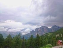 Montañas de Dolomiti Foto de archivo libre de regalías