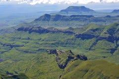 Montañas de Drakensberg Fotos de archivo libres de regalías