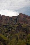 Montañas de Drakensberg Imágenes de archivo libres de regalías