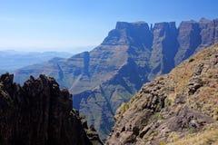 Montañas de Drakensberg fotos de archivo