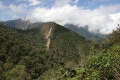 Montañas de Ecuador Fotos de archivo
