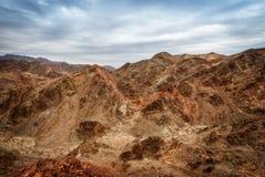 Montañas de Eilat imagen de archivo