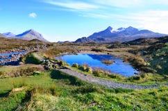 Montañas de Escocia fotos de archivo