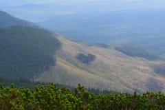 Montañas de Eslovaquia Fotografía de archivo libre de regalías