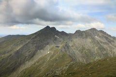 Montañas de Fagaras Imagen de archivo libre de regalías