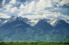 Montañas de Fagaras Fotos de archivo libres de regalías