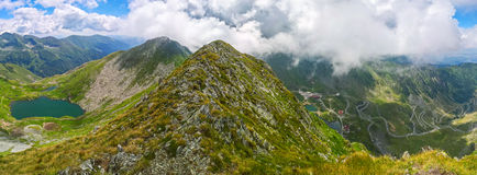 Montañas de Fagaras Imagenes de archivo