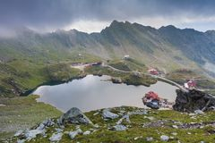 Montañas de Fagaras, Rumania Foto de archivo libre de regalías