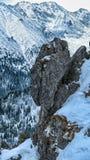 Montañas de GÄ™sia Szyja, eslovaco y polaco Fotografía de archivo