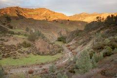Montañas de Gabilan, California Foto de archivo