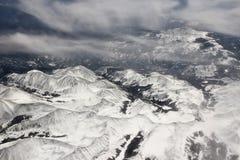 Montañas de Garita del La Fotos de archivo libres de regalías