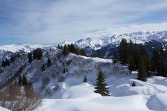 Montañas de Glarner Fotografía de archivo