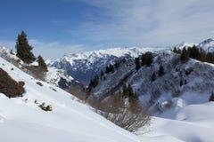 Montañas de Glarner Imágenes de archivo libres de regalías