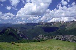 Montañas de Godeanu Imagen de archivo