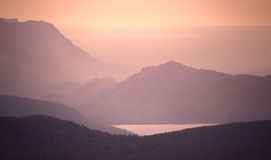 Montañas de Grampians, Australia Foto de archivo libre de regalías