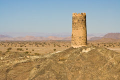 Montañas de Hajar, Omán imagen de archivo libre de regalías