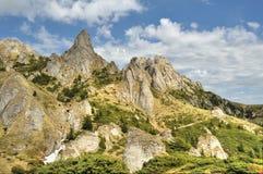 Montañas de HDR, montañas de Ciucas, Rumania Fotos de archivo
