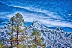 Montañas de Himalaya, Nepal Imágenes de archivo libres de regalías