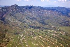 Montañas de Huachuca foto de archivo libre de regalías
