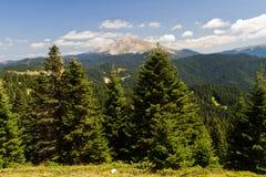 Montañas de Ilgaz Imágenes de archivo libres de regalías