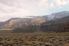 Montañas de Inyo Fotos de archivo