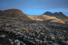Montañas de Islandia Imágenes de archivo libres de regalías