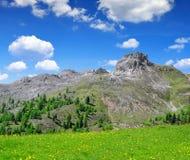 Montañas de Italia Foto de archivo libre de regalías