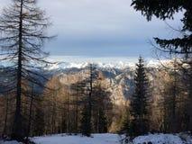 Montañas de Julien Foto de archivo libre de regalías