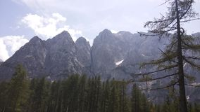 Montañas de Julijci Imagen de archivo