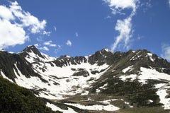 Montañas de Kackar Foto de archivo libre de regalías