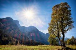 Montañas de Karwendel Imagen de archivo libre de regalías