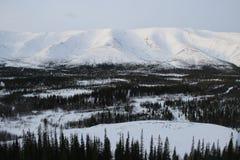 Montañas de Khibiny Imágenes de archivo libres de regalías