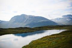 Montañas de Kiruna Fotos de archivo libres de regalías