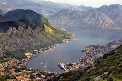 Montañas de Kotor Fotografía de archivo libre de regalías