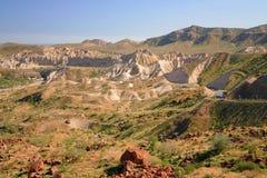 Montañas de la arena Imagen de archivo libre de regalías
