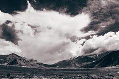 Montañas de la Argentina de la Patagonia Foto de archivo