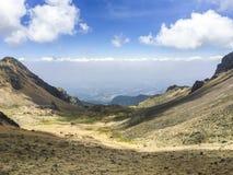 Montañas de la aventura de México imagenes de archivo