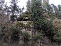 Montañas de la cascada imagen de archivo