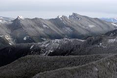 Montañas de la cascada, estado de Washington Fotografía de archivo